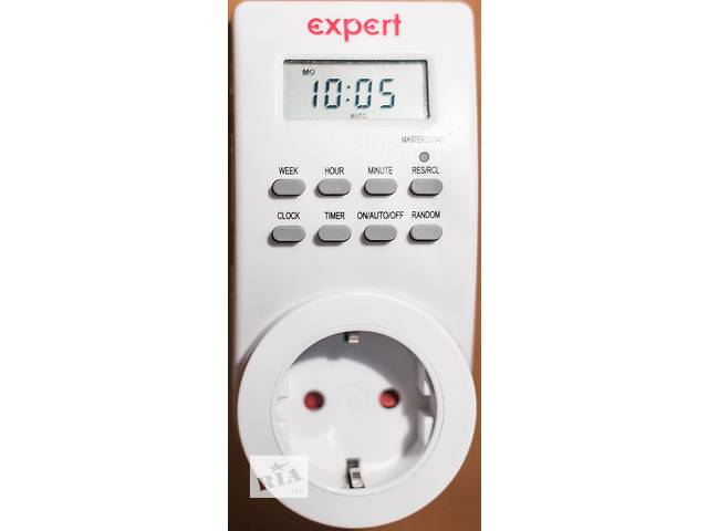 купить бу Розетка таймер электронный (реле времени) expert e-te-7x24x3,6kw-f в Днепре (Днепропетровске)