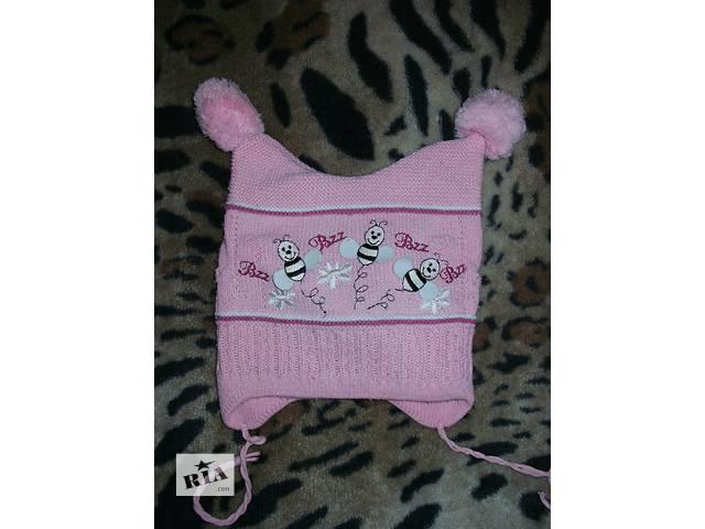 Розовая шапочка с пчелками + подарок- объявление о продаже  в Желтых Водах