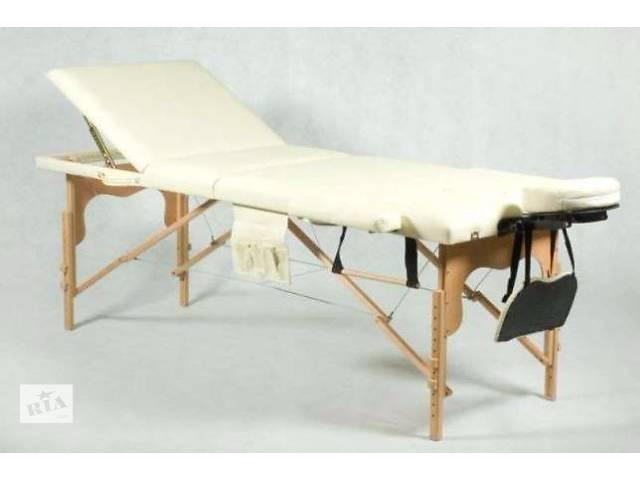 Раскладной массажный стол (сумка в подарок)- объявление о продаже  в Львове