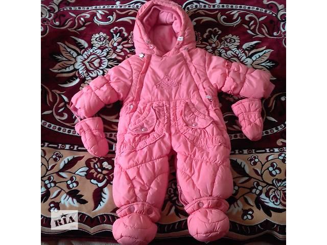Розовый комбинезон на флисе)))- объявление о продаже  в Киеве