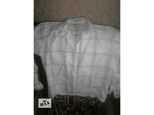 Рубашка белая- объявление о продаже  в Сумах