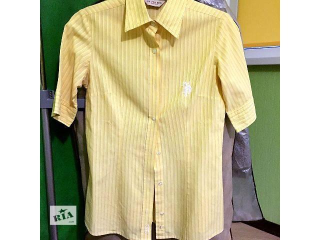 бу Продаю женскую рубашку с коротким рукавом US Polo Assn в Киеве