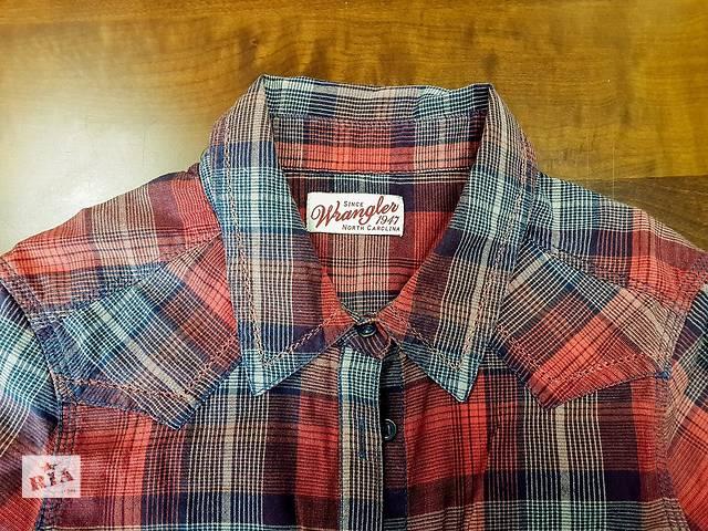 бу Продаю женскую рубашку в клетку Wrangler в Киеве