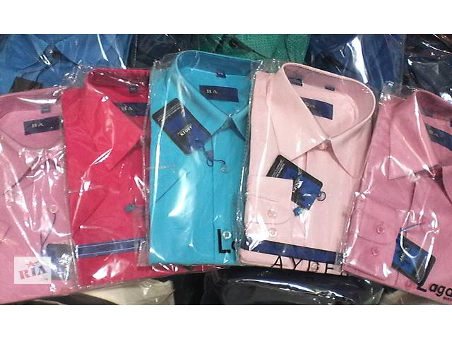 Рубашки однотонные,рубашка в школу.- объявление о продаже  в Киеве