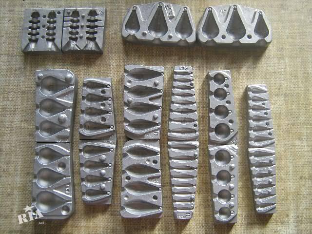 Формы для отливки грузил своими руками из металла