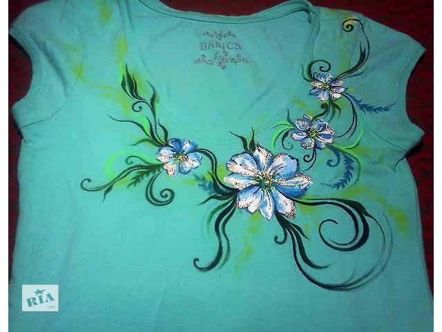 купить бу Рисунок на одежде ручной работы в Запорожье