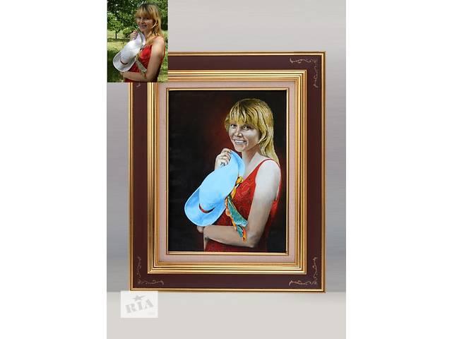 купить бу Рисую портреты по фото, карандаш, пастель, масло. в Смеле