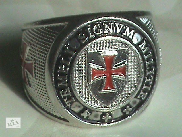 рыцарский перстень ордена Тамплиеров- объявление о продаже  в Нетешине
