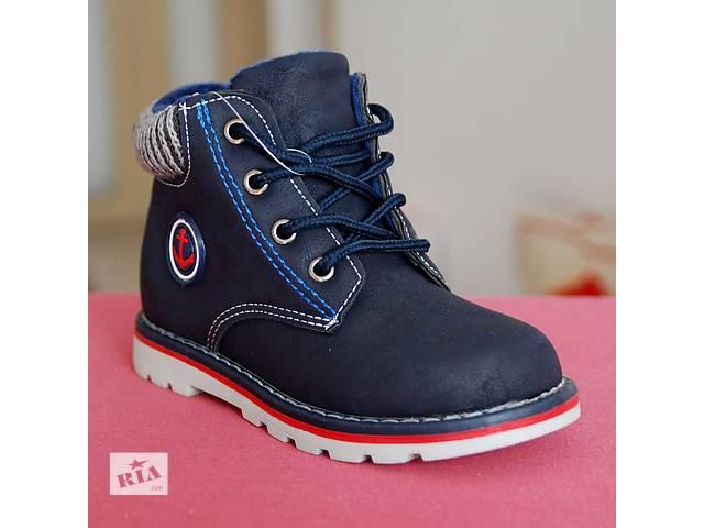 с 25р - 27р - демисезонные ботинки на мальчика Якорь- объявление о продаже  в Хмельницком