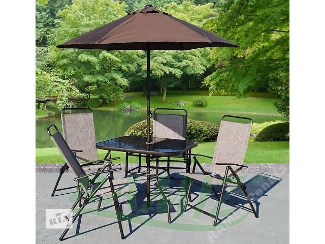 Садовая мебель Richard,зонт,4 кресла,стол. нет в наличии- объявление о продаже  в Тернополе