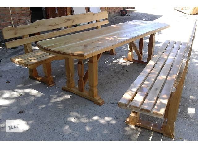 бу Садовая мебель столы скамейки в Виннице