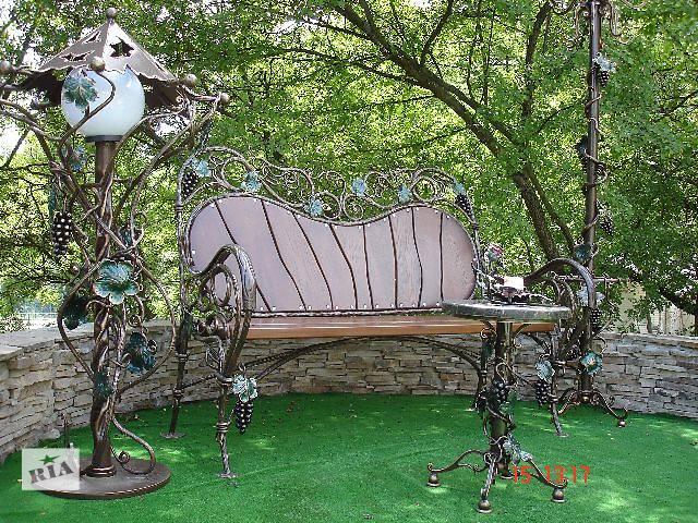 купить бу Садовая мебель, декор Кованая мебель для сада новый в Дергачах