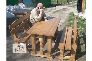 Садовая мебель, декор Наборы садовой мебели Столы скамейки новый