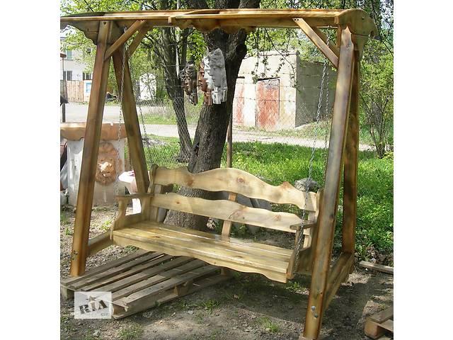 купить бу Садовая мебель, декор новый Садовые качели Большие в Виннице