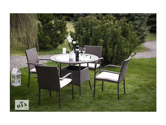 """бу Набор мебели на 4 человек для террасы, сада, ресторанов из ротанга """"Tafira"""" Technorattan (в 3-х цветах) в Тернополе"""