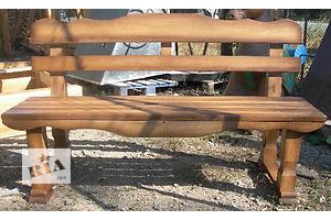 Садовые скамейки деревянные
