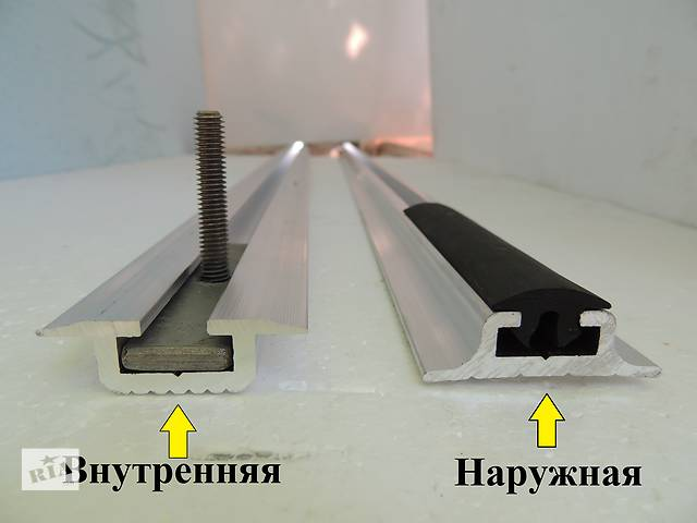 Салазка алюминиевая внутренняя для крепления сидений в автобусах- объявление о продаже  в Киеве