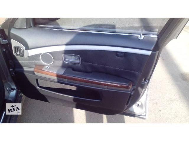 Салон BMW е65 Recaro чёрная кожа- объявление о продаже  в Киеве