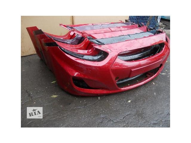 купить бу Бампер Hyundai Accent 2010 2011 2012 2013 2014 2015 Solaris в Харькове