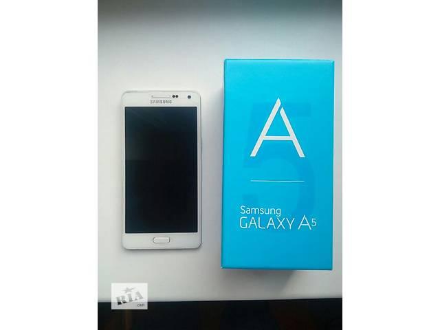 Samsung Galaxy A5 Duos SM-A500 White- объявление о продаже  в Киеве