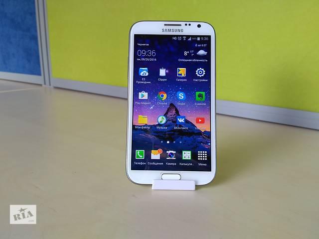 купить бу Samsung Galaxy Note 2 (оригинал, идеальное состояние) в Чернигове