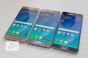 Новые Сенсорные мобильные телефоны Samsung Samsung Galaxy Note 5