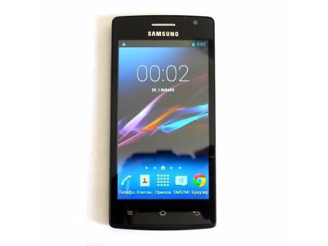 бу Samsung Galaxy Q007 копия 2SIM Android 4.4 экран 4.5 дюйма 2 ядра 512 МБ ОЗУ в Одессе