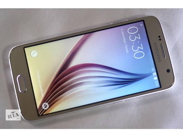 продам Samsung Galaxy S6 (1SIM) (белый, черный, золото) бу в Харькове