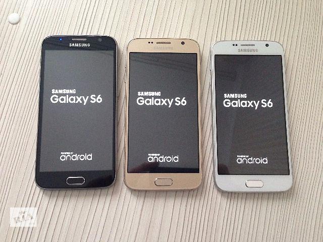 """бу Samsung Galaxy S6 8-Ядер! 5.1""""! Android 5.0.2! Новый товар! Высокое качество! Без Предоплат! ЗВОНИ И ПОЛУЧИ ПОДАРОК! Копия в Киеве"""