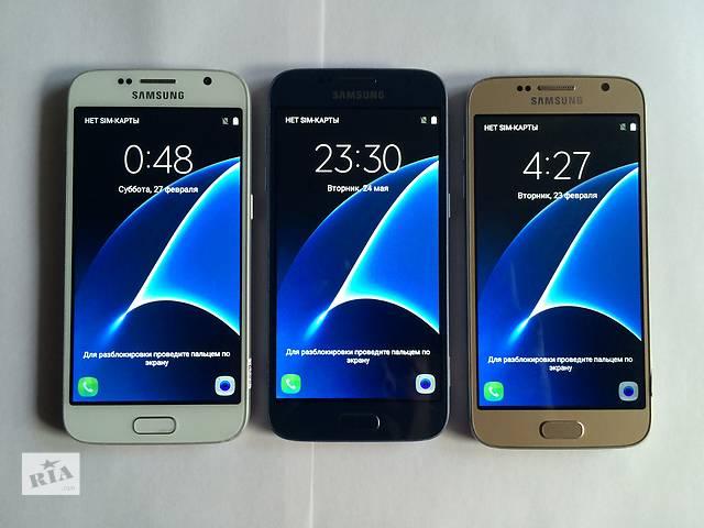 продам Samsung Galaxy S7 2-Sim! 8-Ядер! 4Гб-Озу! 32Гб! Копия! Оплата при получении! Звони Сейчас! ЗВОНИ И ПОЛУЧИ ПОДАРОК! бу в Киеве