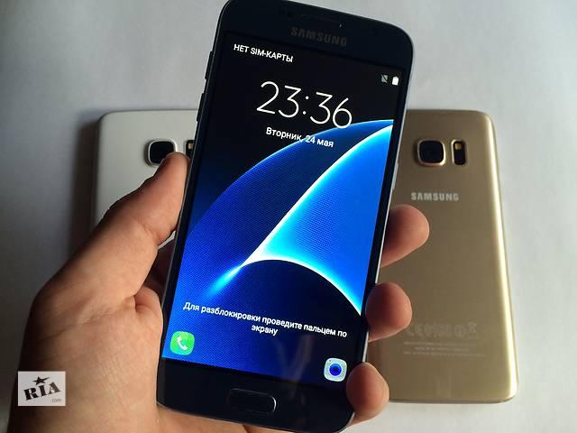 бу Samsung Galaxy S7 2-SIM! 8 Ядер! Android 6.0.1! 4Гб-Озу! 32Гб! Отправка Бз Предоплат! Оплата при получении! в Одессе