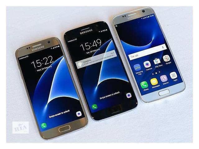 бу Samsung Galaxy S7 Plus копия 2SIM 4G Android 6.0 экран 5.5 дюймов IPS 4 ядра 2 ГБ ОЗУ 8 ГБ 5 мп GPS в Одессе