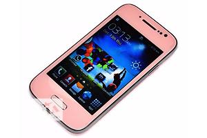 Samsung S4 mini Pink 4 2 sim Android Чехол