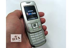 Samsung E250 Slider Модна моделька и очень компактная