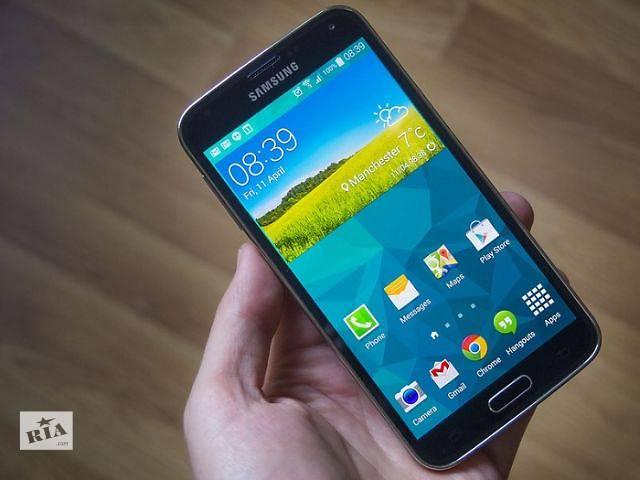 """купить бу Samsung Galaxy S5(копия) телефон отличного качества 5""""2сим 2мп Ява в Одессе"""