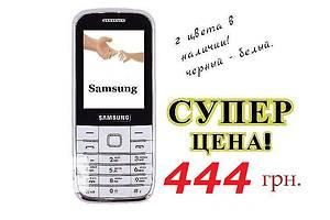 Samsung M400 (2sim) 2 цвета в наличии. черный - белый. Гарантия 6 мес.