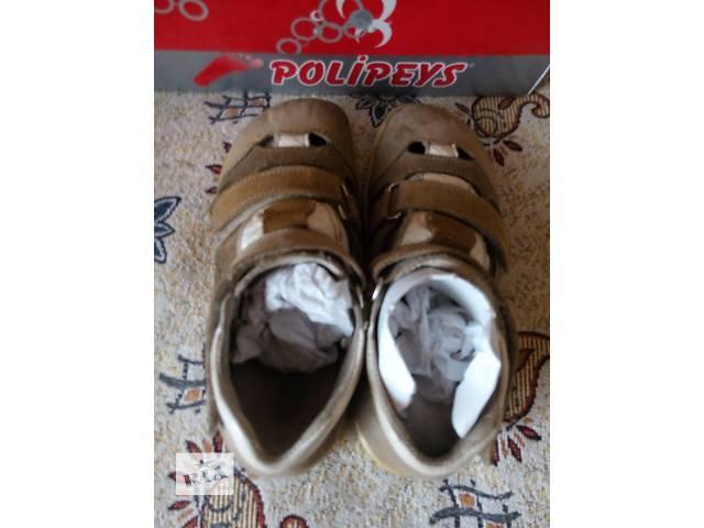купить бу Сандалии кожаные детские 30Р в Вишневом