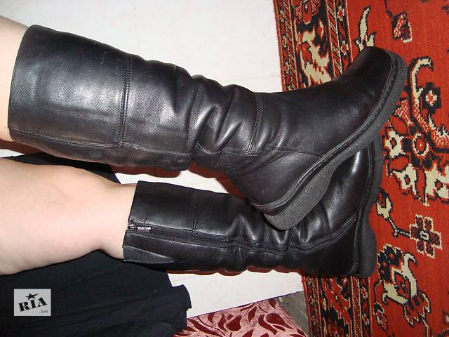 бу Сапоги зима, 40 размер, натур.кожа и цыгейка в Днепре (Днепропетровске)