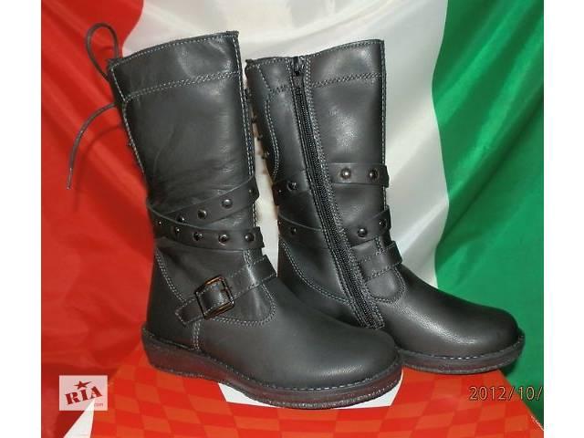 продам Сапоги кожаные детские M-Kids производство Италия 25-28 бу в Киеве