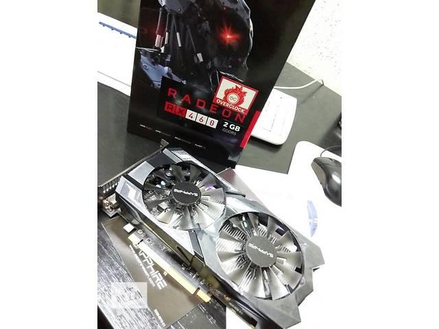 продам Sapphire PCI-Ex Radeon RX 460 2GB GDDR5 бу в Полтаве