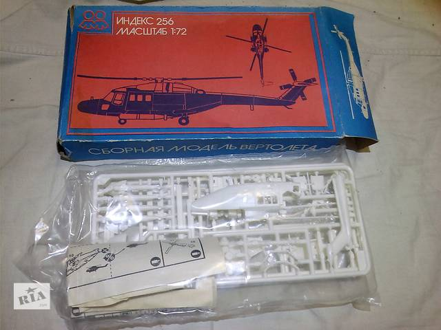 бу Сборная модель вертолета 1:72 СССР в Харькове