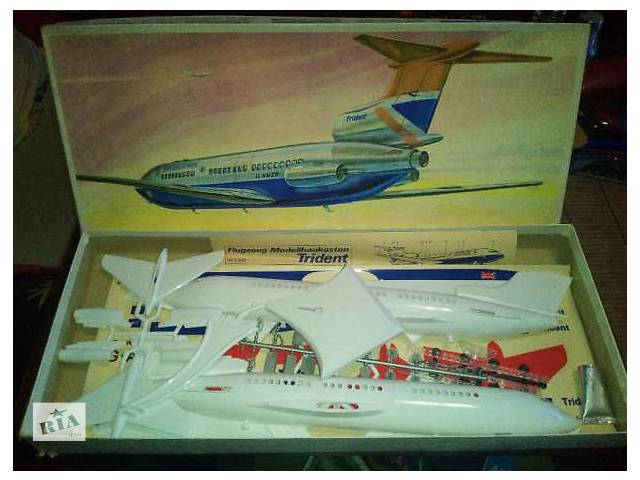 купить бу Сборная пластиковая модель авиации Trident Plasticart (ГДР) в Киеве