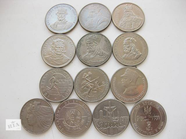 продам Сборная польских памятных монет (все разные) бу в Ровно