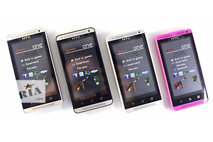 Сенсорный китайский телефон HTC One M7 Full 4