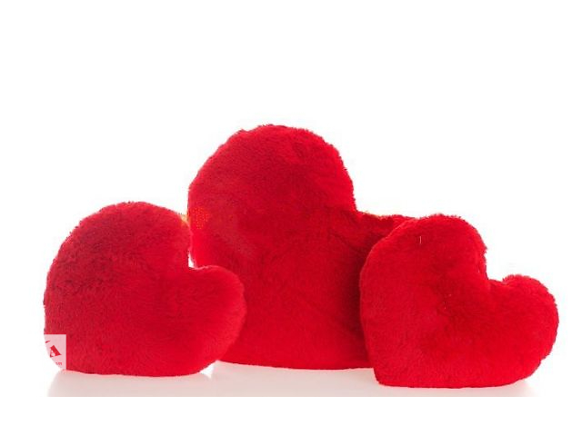 Сердце-подушка 15 см- объявление о продаже  в Черкассах
