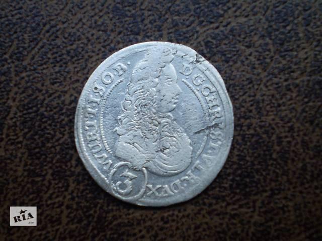 продам Серебро 3 крейцера 1696-го года Герцогство Вюртемберг-Ольс бу в Черновцах