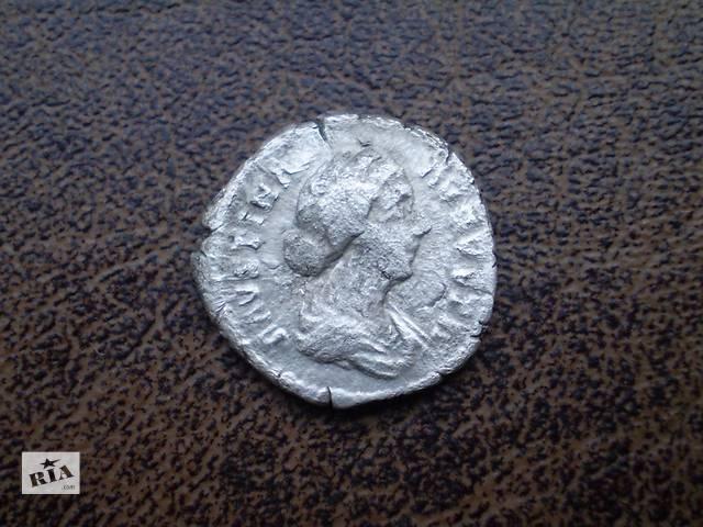 бу Серебро денарий Фаустины Младшей 161 г. н. э. в Черновцах