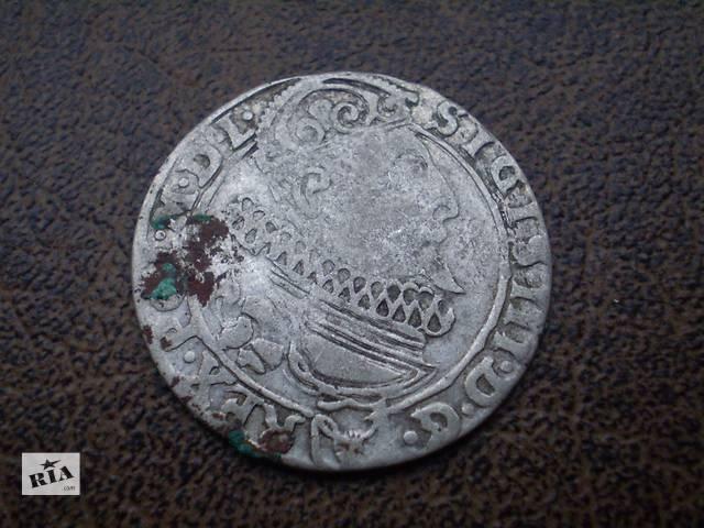 бу Серебро шестак 1626-го года Речь Посполитая в Черновцах