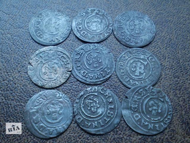 продам Серебро солиды Ливония с 1632-го по 1654-й года бу в Черновцах