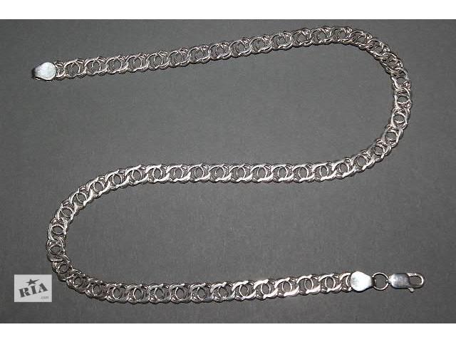 Серебряная Цепочка Арабский Бисмарк 39.5грамм- объявление о продаже  в Одессе
